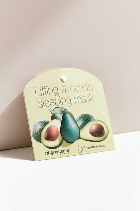 iN.gredients Lifting Avocado Sleeping Mask