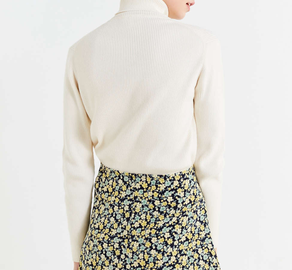 Slide View: 5: Urban Renewal Remade Floral Wrap Skirt