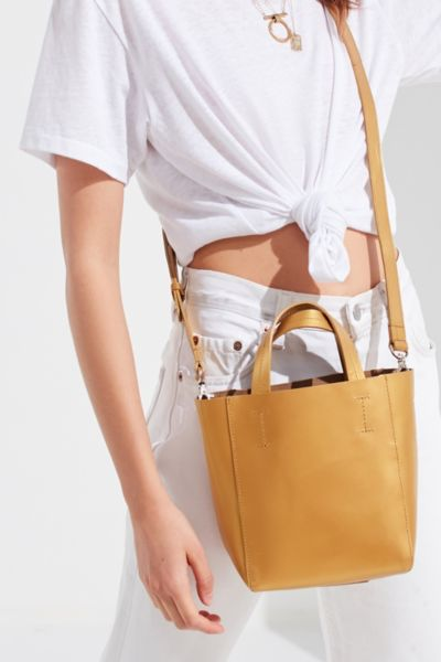 Mini Leather Tote Bag by Urban Outfitters