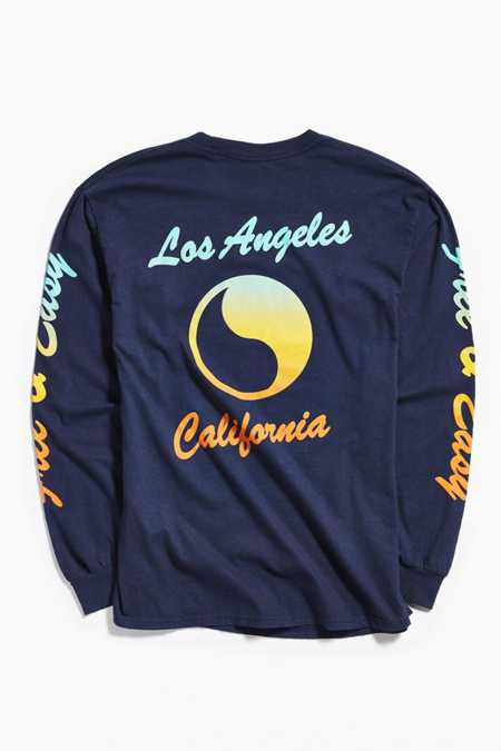 Free & Easy Sunset Long Sleeve Tee