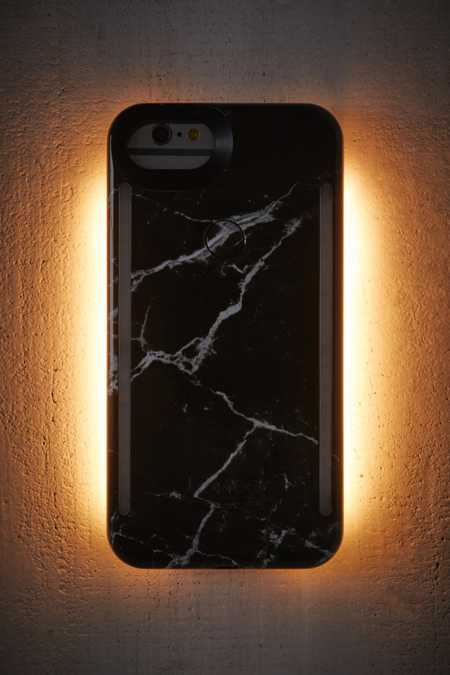 LuMee Duo Black Marble iPhone 8/7/6/6s Case