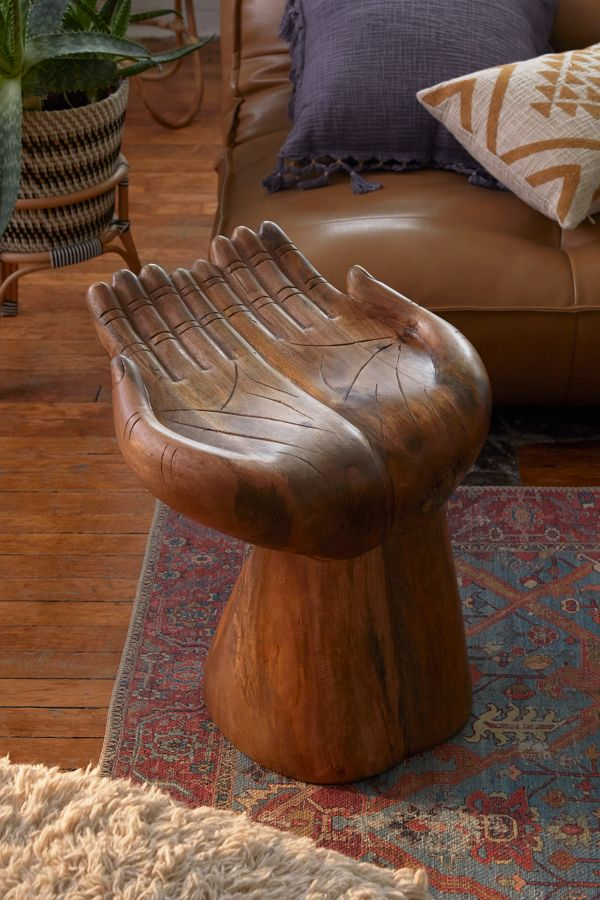 Slide View: 1: Open Hands Stool