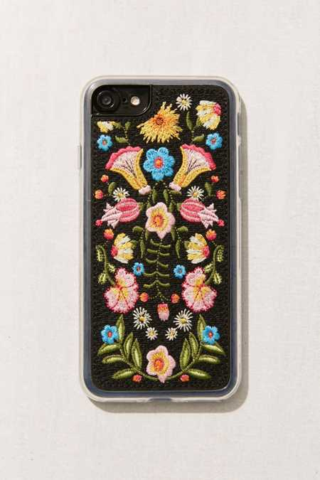 Zero Gravity X UO Feliz Embroidered Floral iPhone 7/8 Case