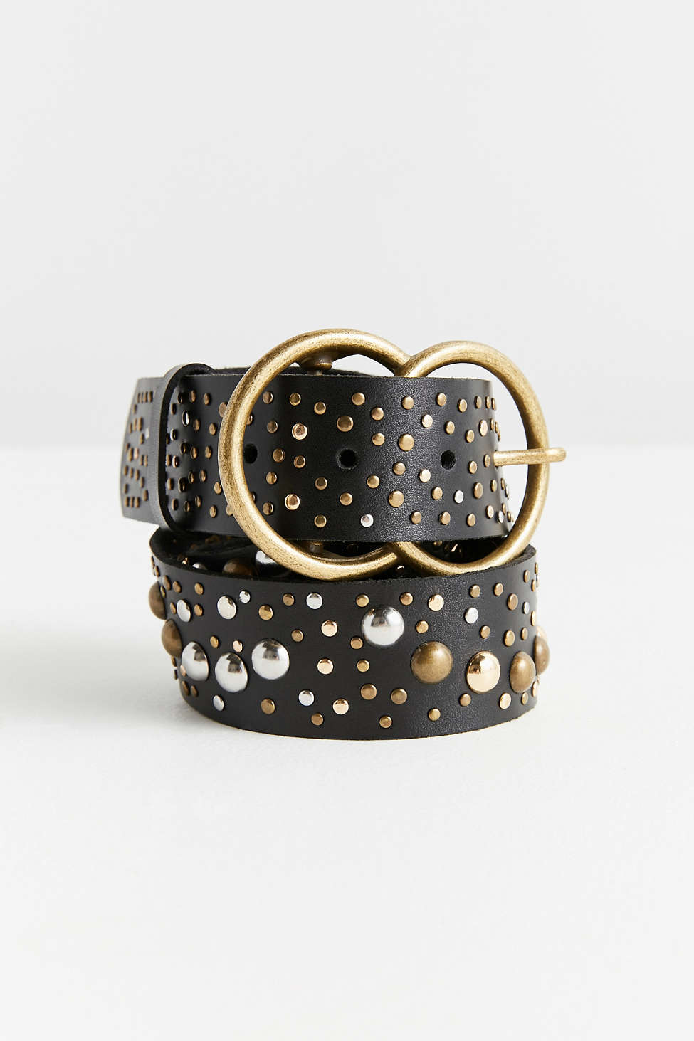Studded Double O-Ring Belt