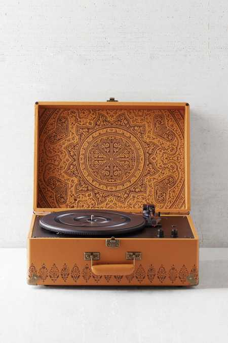 Crosley X UO Keepsake Embossed AV Room Portable USB Vinyl Record Player