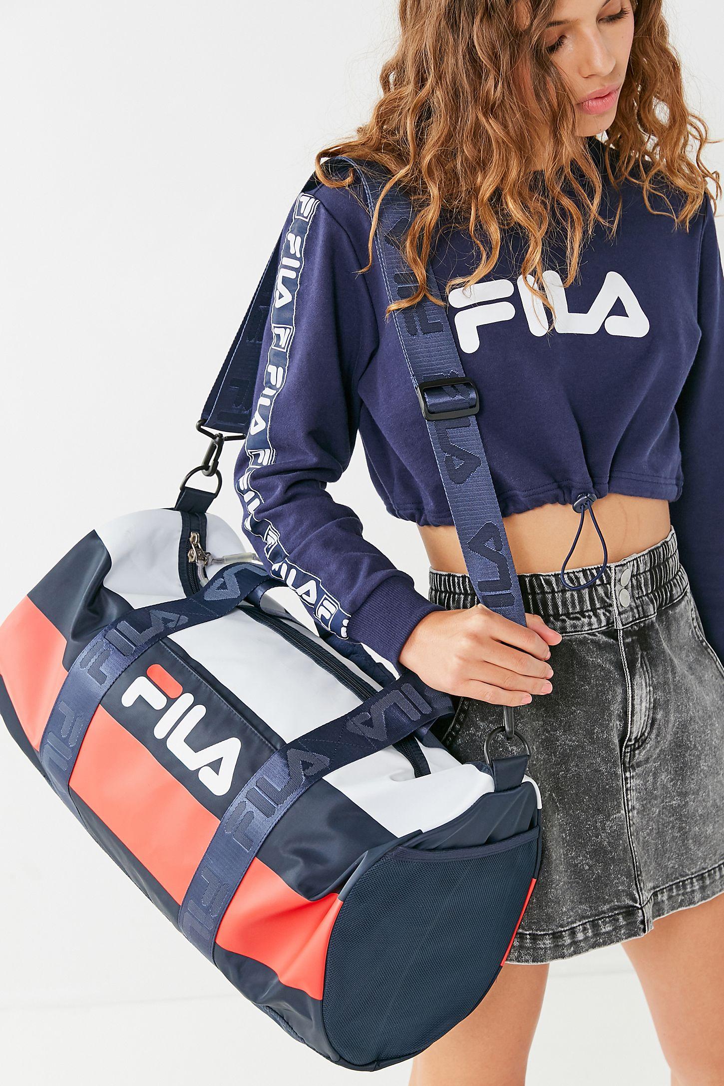 FILA Major Stripe Duffle Bag  7c97eec634b16