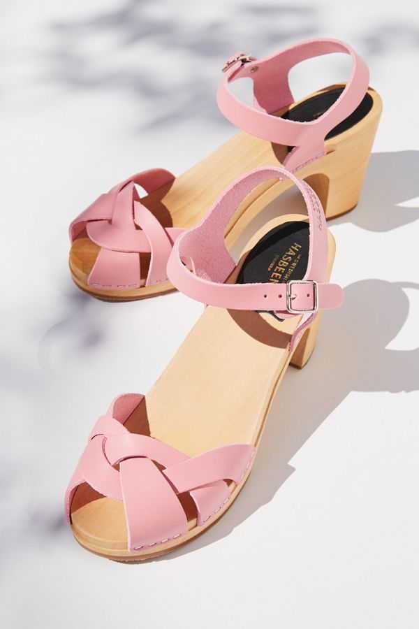 Slide View: 6: Swedish Hasbeens Kringlan Sandal