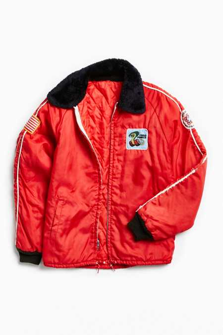 Vintage Ford Power Red Racing Jacket