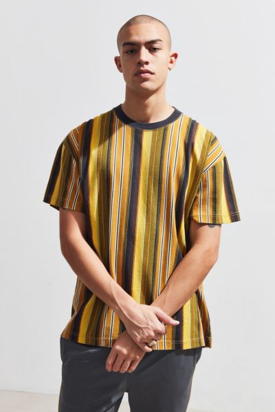 c80e55f5 Shoptagr | Uo Dillon Verano Vertical Stripe Tee by Urban Outfitters