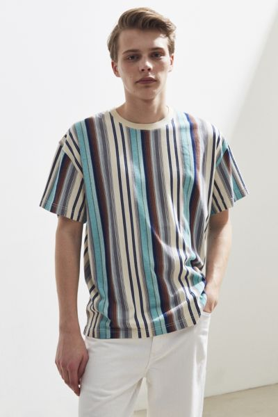 6ebd81a6 Shoptagr | Uo Dillon Verano Stripe Tee by Urban Outfitters