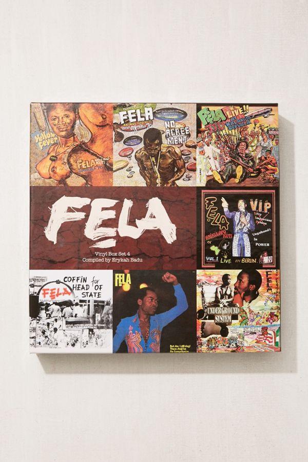 Fela Kuti Vinyl Box Set By Erykah Badu 7xlp Urban Outfitters