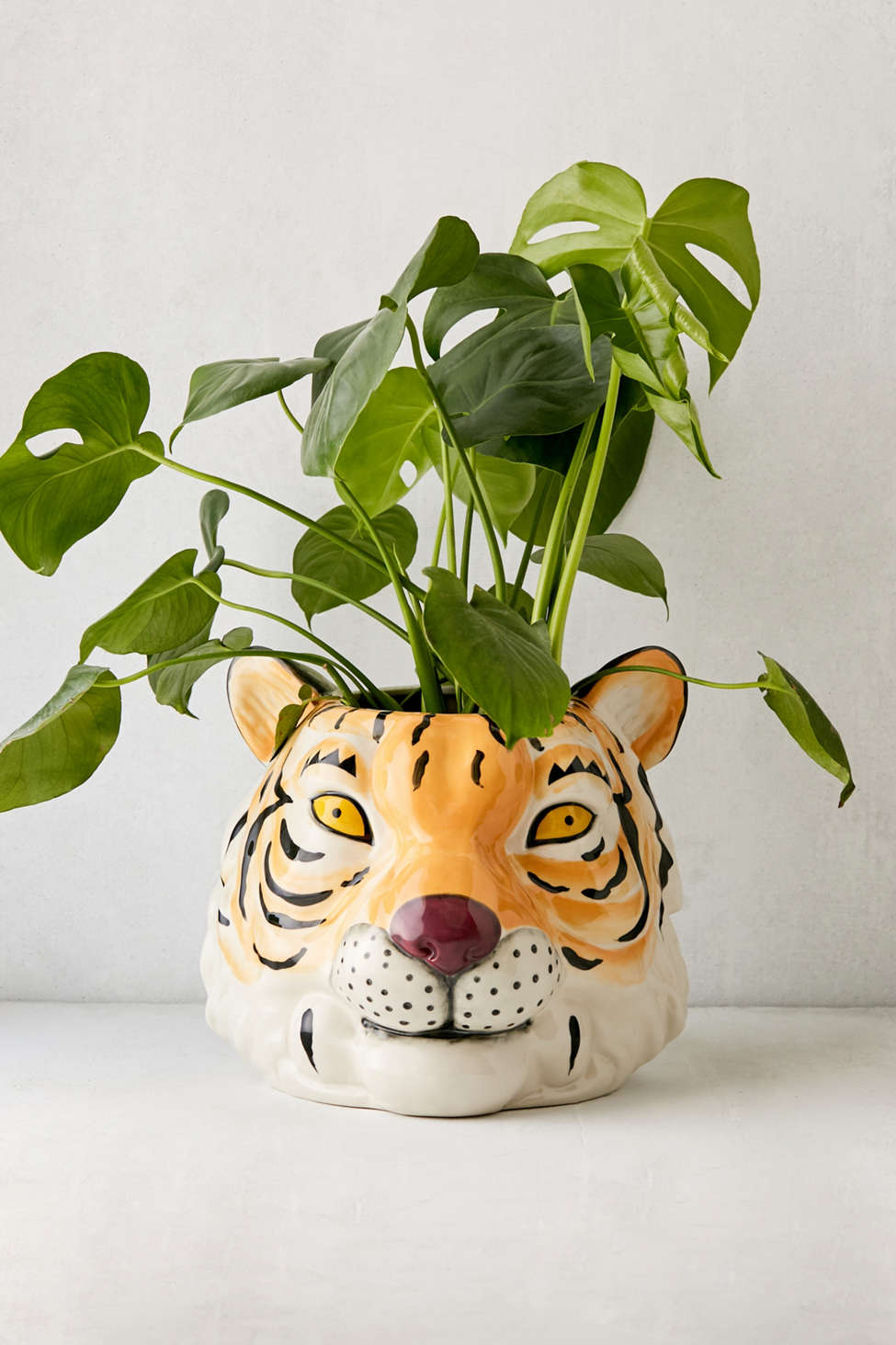 Slide View: 2: Large Tiger Planter