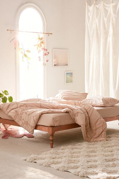 Copper Bohemian Platform Bed by Urban Outfitters