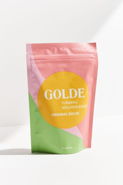GOLDE Original Turmeric Wellness Blend - Yellow One Size at Urban Outfitters