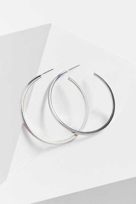 Soho Square Hoop Earring