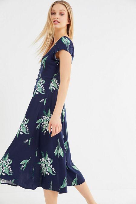 Midi Maxi Dresses Urban Outfitters