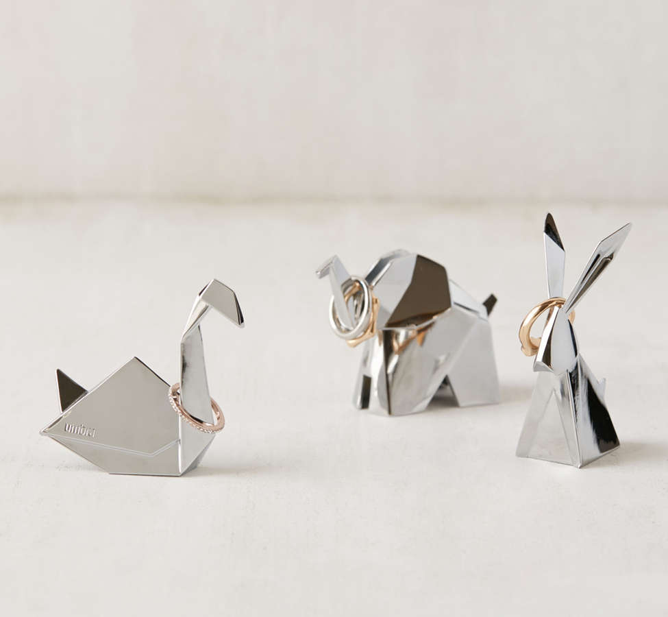 Slide View: 4: Origami Animal Ring Holder