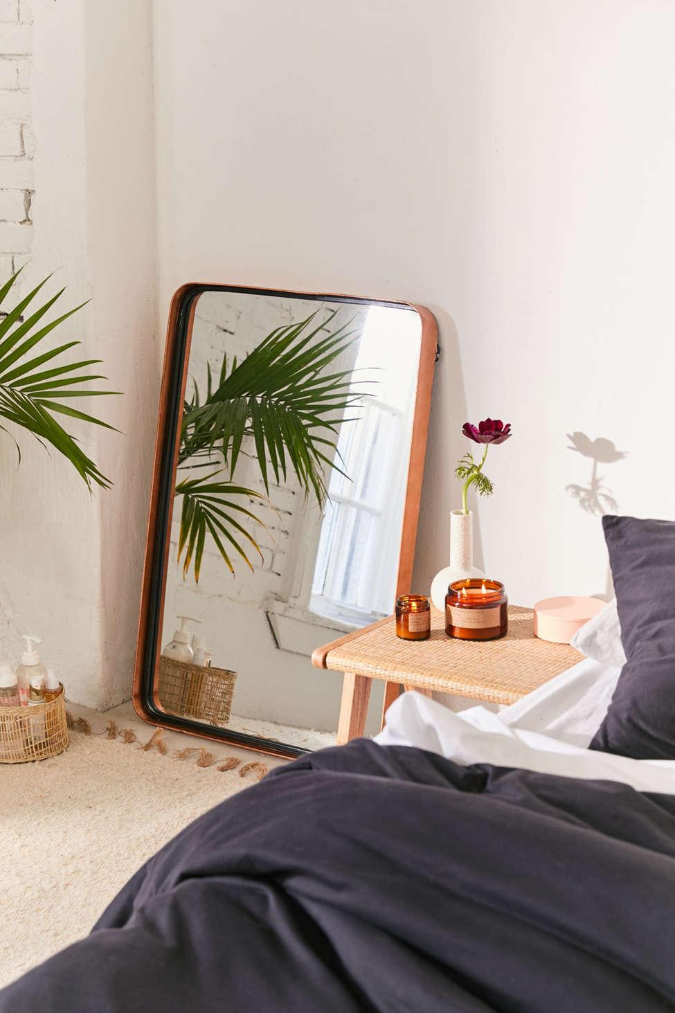 Slide View: 1: Rhiannon Rectangular Mirror