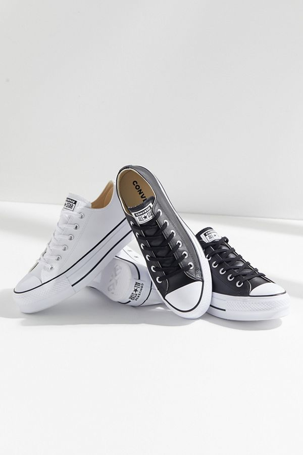 ... Converse Chuck Taylor All Star Lift Leather Sneaker  27ddf8ba2