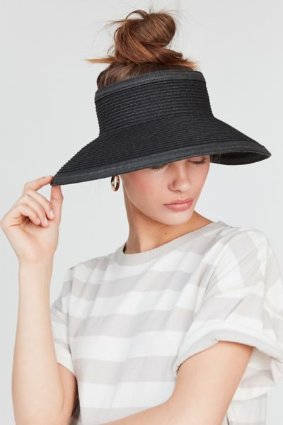 Straw Visor Hat by Urban Outfitters