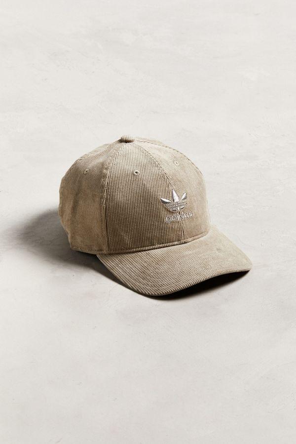 adidas Originals Relaxed Corduroy Baseball Hat  be507f4435b
