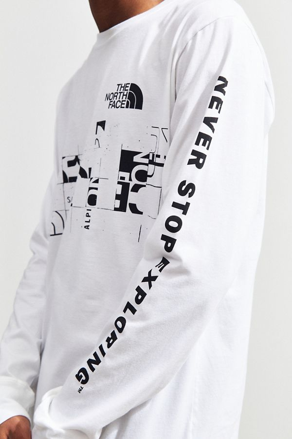 Slide View 2 The North Face Scan Long Sleeve Tee