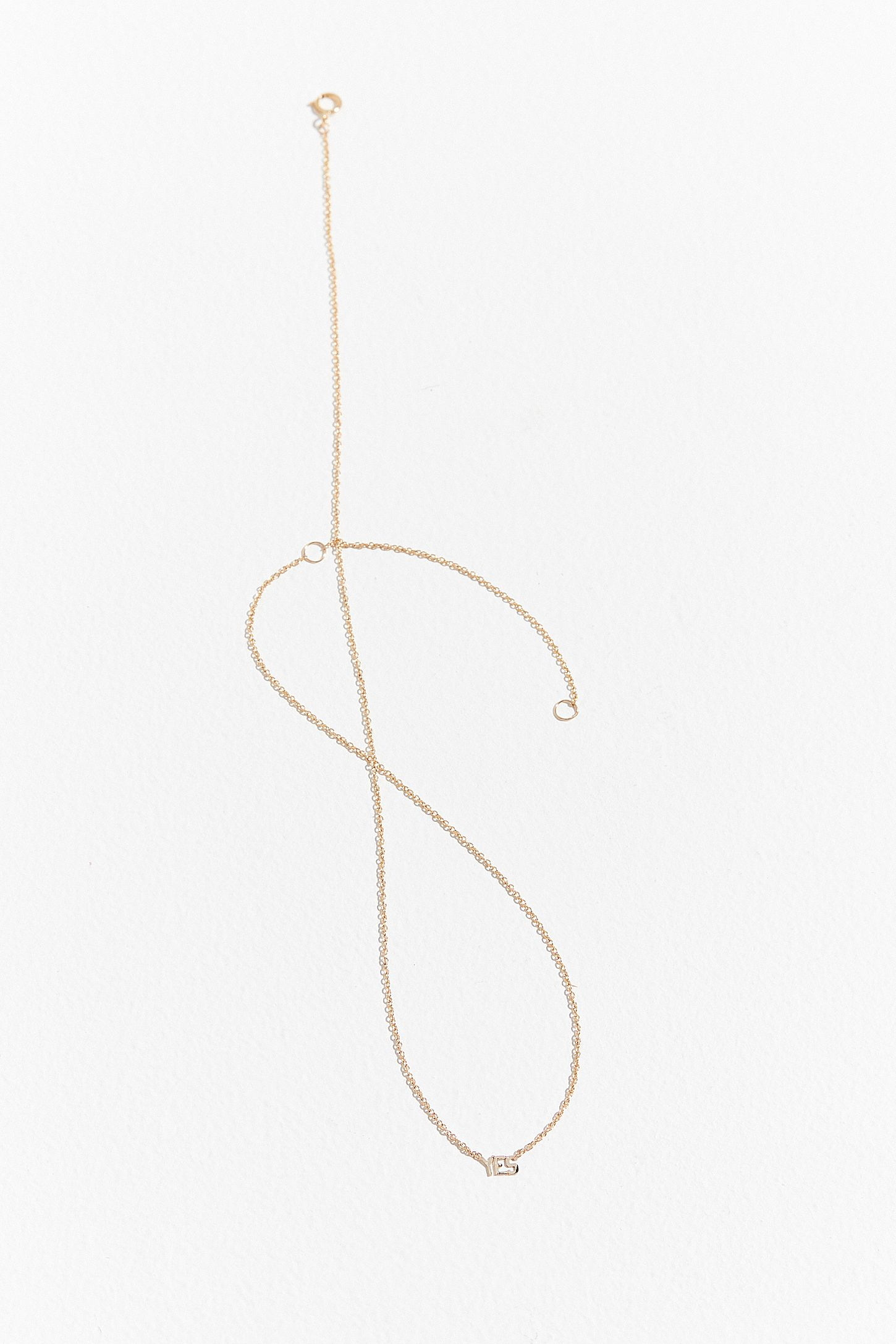 or necklace gold d products fancy hsn initial monogram