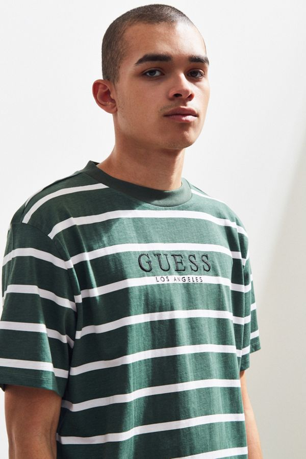 Guess St James Stripe Tee Urban Outfitters