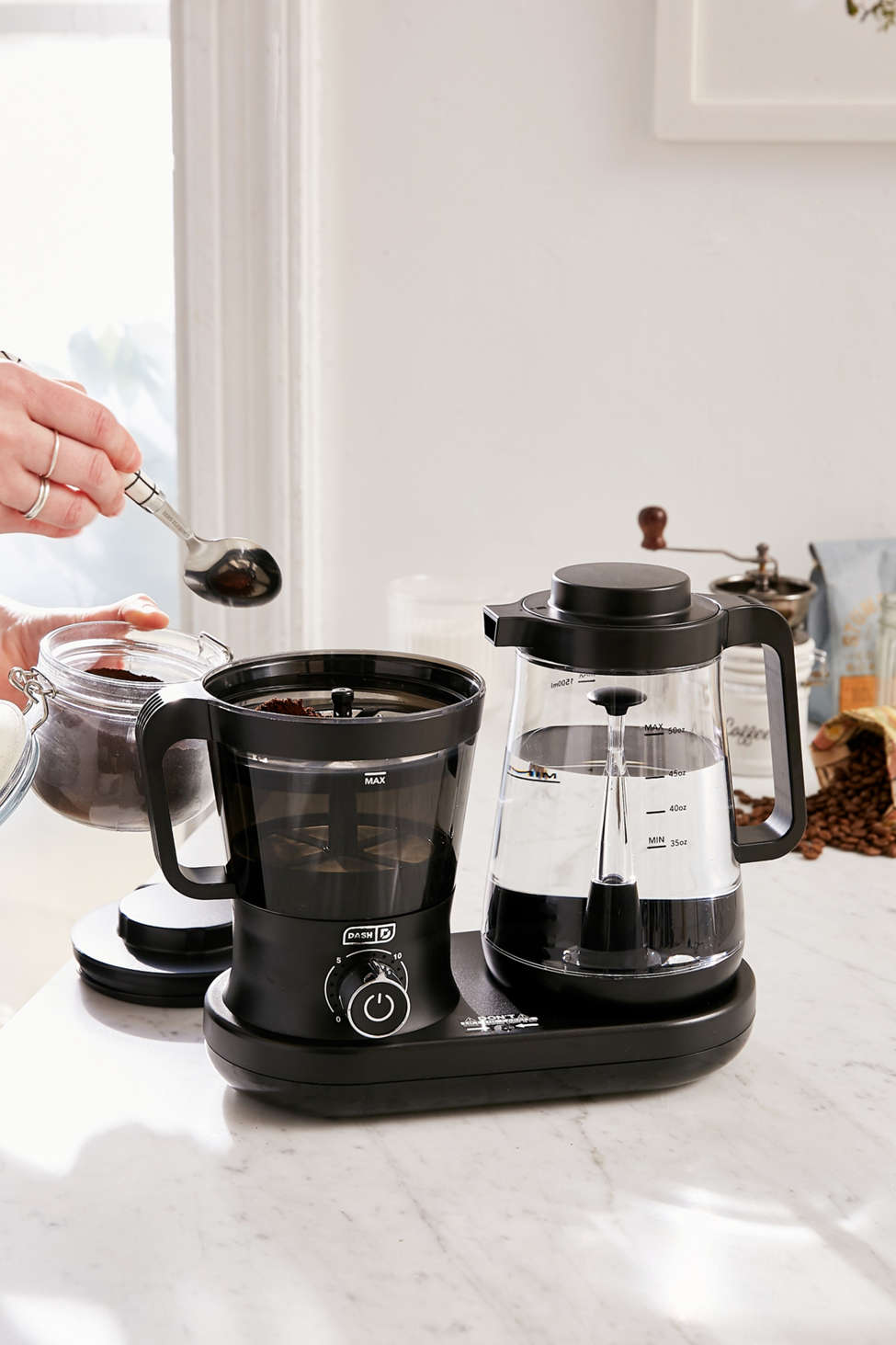 Slide View: 1: Rapid Cold Brew Coffee Maker