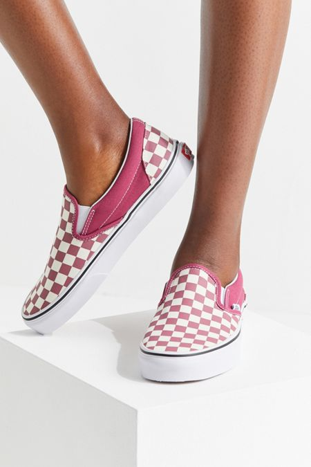 744d78295a8ade Vans Bright Checkerboard Slip-On Sneaker