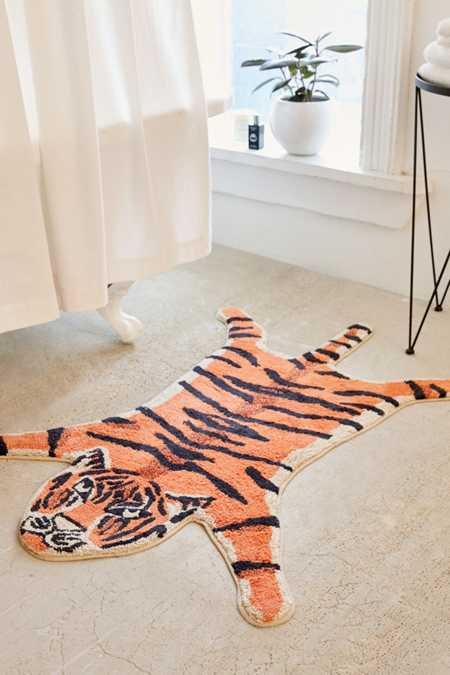 Tiger Bath Mat