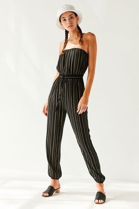 2016917de239 Out From Under Fara Strapless Jumpsuit
