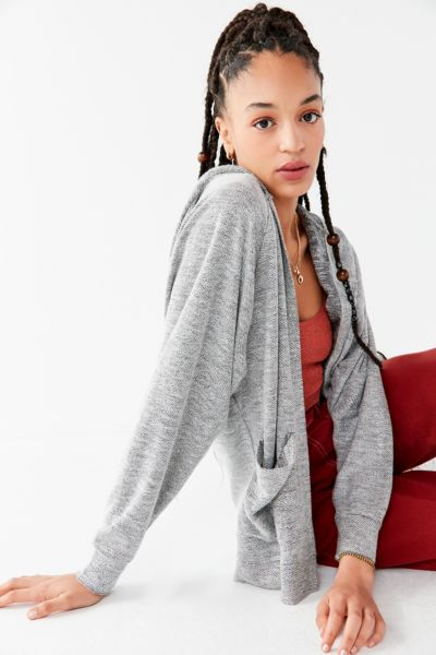 Uo Huntington Hooded Cardigan by Urban Outfitters
