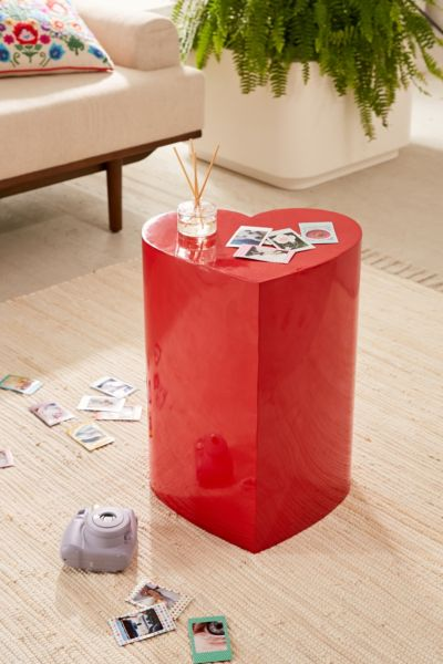 Heart Side Table by Urban Outfitters