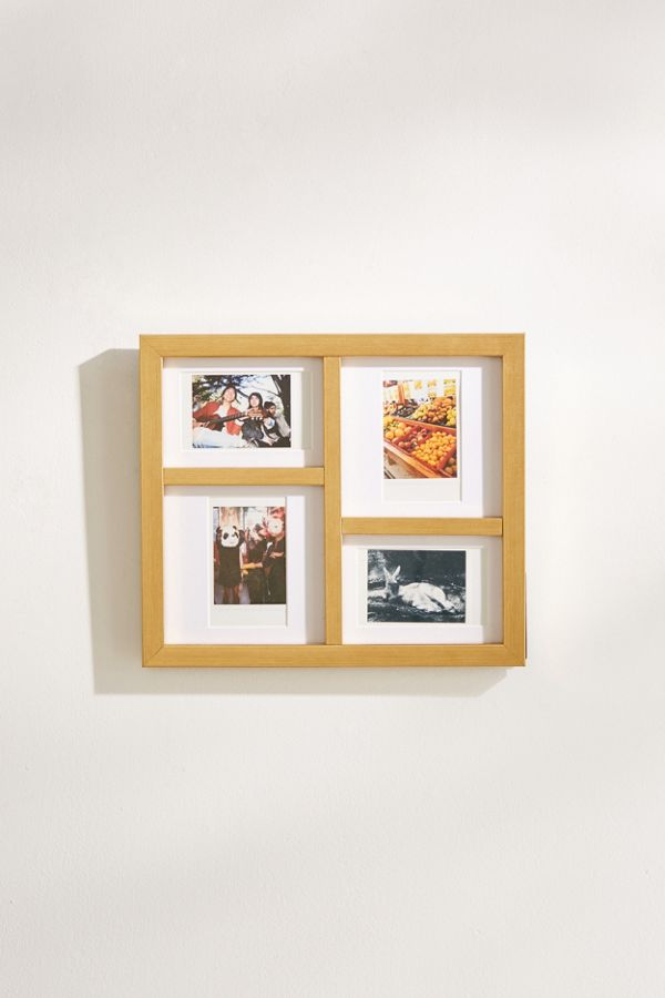 Gilda Grid Instax Mini Picture Frame   Urban Outfitters