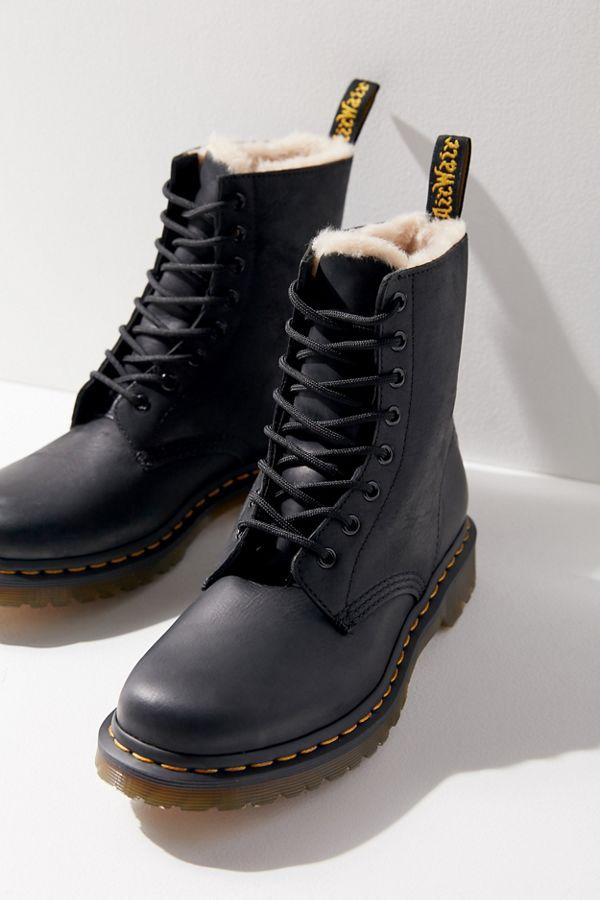 Dr. Martens 1460 Serena Fur-Lined Boot  9f776f1eb586
