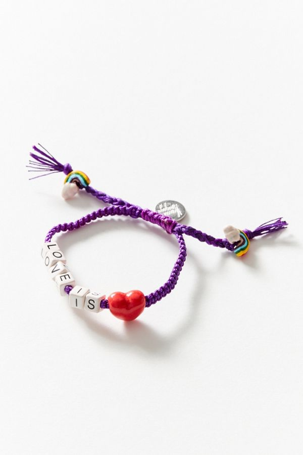 Slide View 1 Venessa Arizaga Love Is Bracelet