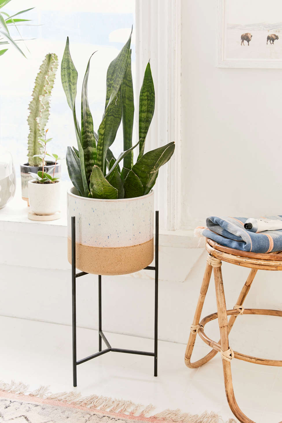Slide View: 1: Brina Planter + Stand