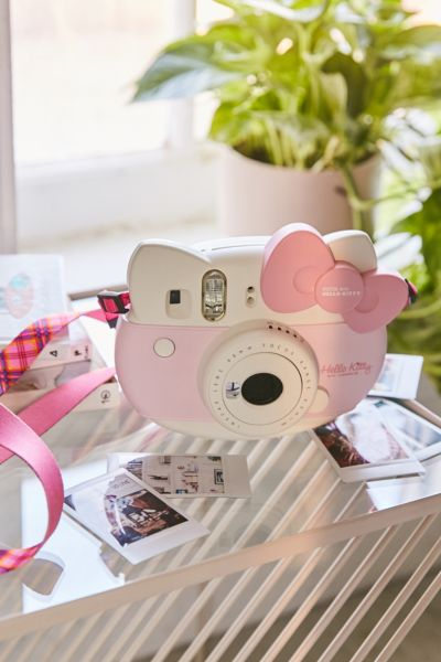 Fujifilm Hello Kitty Instax Mini 8 Instant Camera - Pink One Size at Urban Outfitters