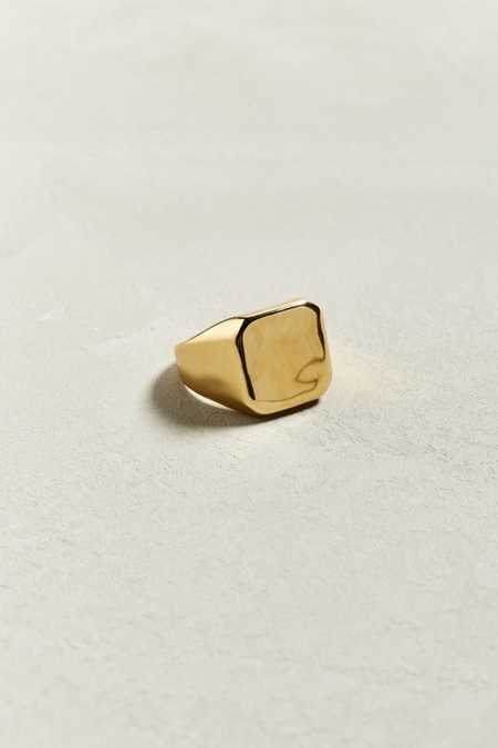 Riakoob Square Face Metal Ring