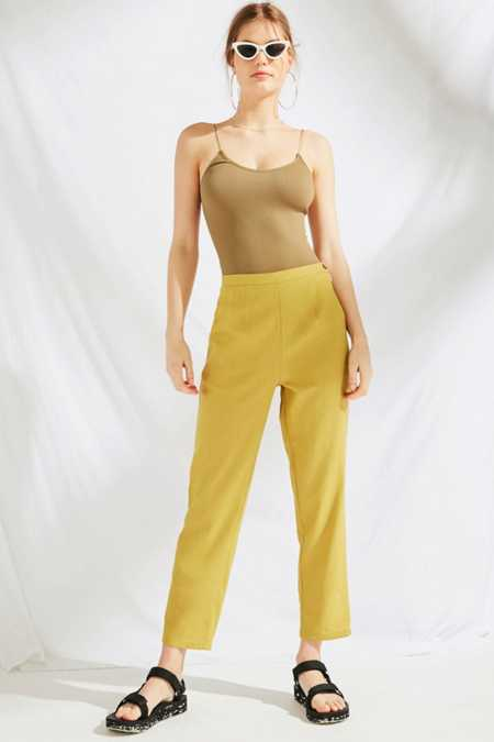 Urban Renewal Remnants Linen Pin-Up Pant