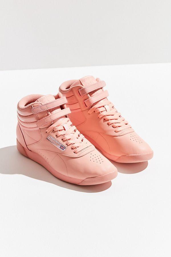 Reebok X GLOW Freestyle Hi Monochrome Sneaker dZxe0f - roland ... 5f95fb275