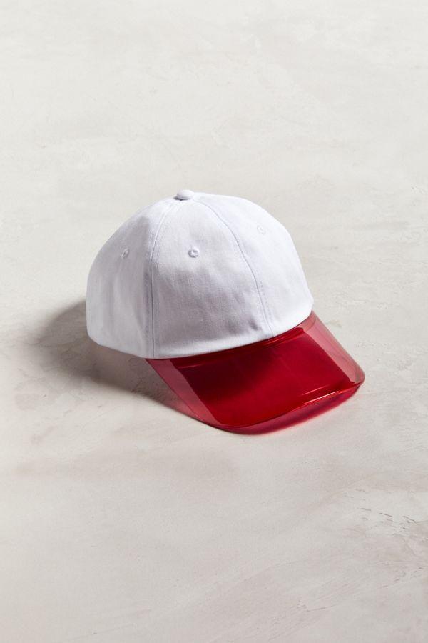 Clear Brim Dad Hat  fa1c83ed30e