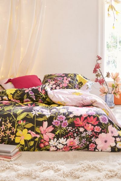 Laurel Floral Duvet Cover by Urban Outfitters