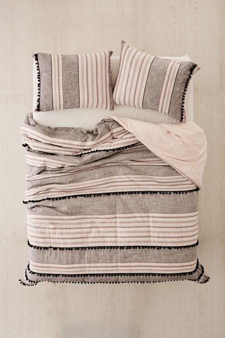 Betty Yarn-Dye Duvet Cover