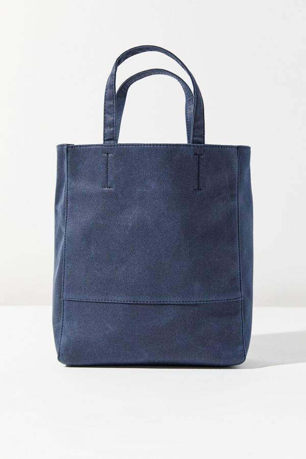 Slide View 3 Waxed Canvas Tote Bag