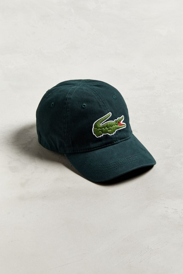 Lacoste Big Croc Gabardine Hat  747bf748c0f7