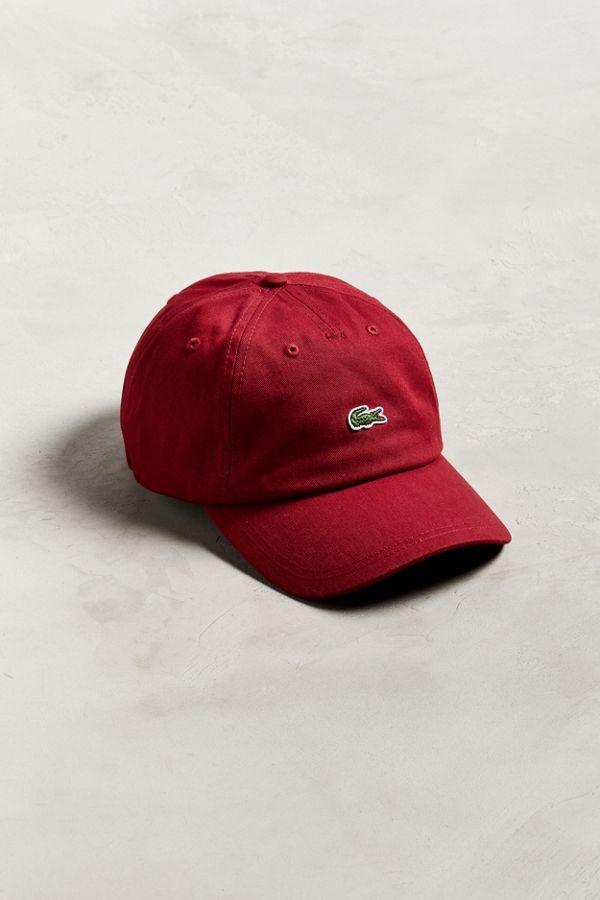 Lacoste Small Croc Baseball Hat 0589d54c63b