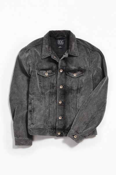 Uo Washed Corduroy Trucker Jacket by Urban Outfitters