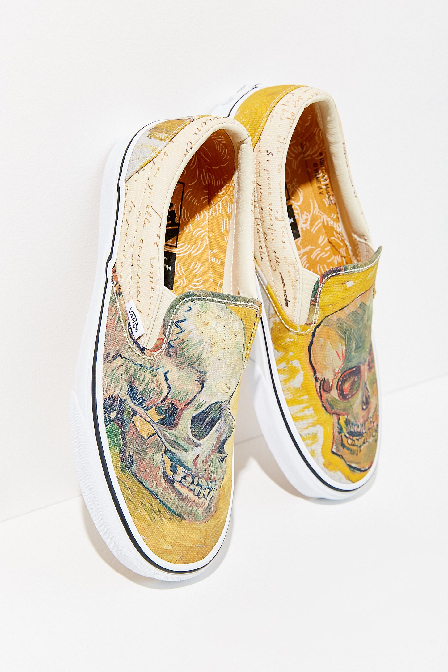 vans x van gogh shoes